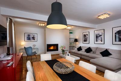 Villa Infinity Living room